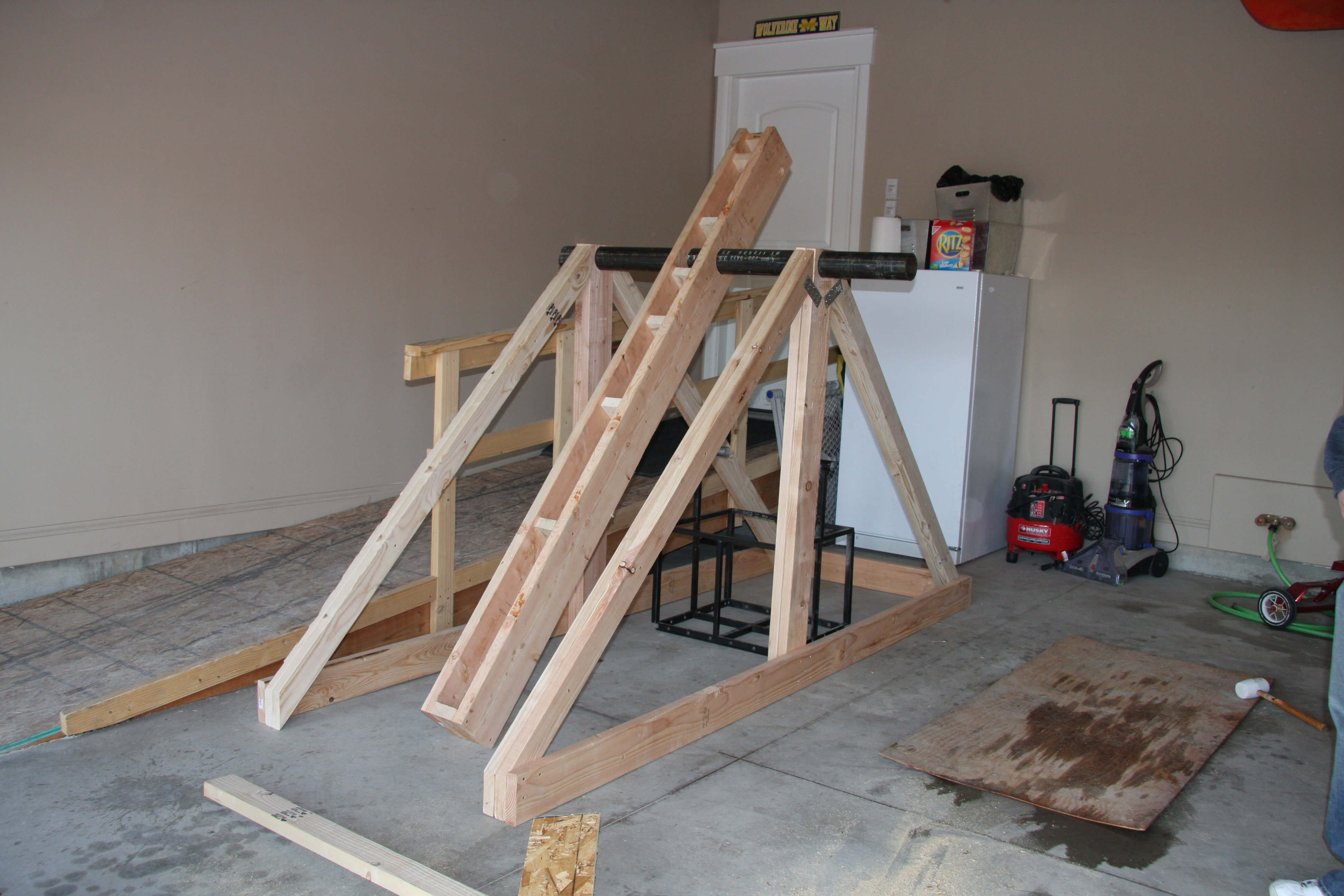 what is a trebuchet A trebuchet is actually a type of catapult, and a catapult is any device that throws an object which can be rocks or explosives catapults were popular weapons during the medieval times hence, catapults were also referred to as medieval siege weapons.